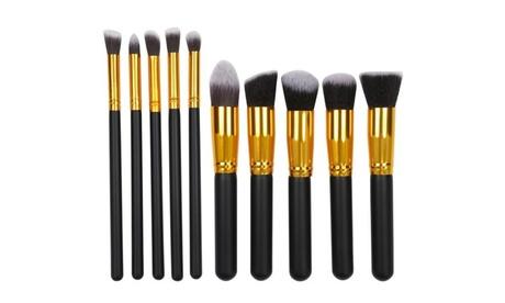 10pcs Professional Cosmetic Makeup Brush Kit Makeup Brushes Set Tool