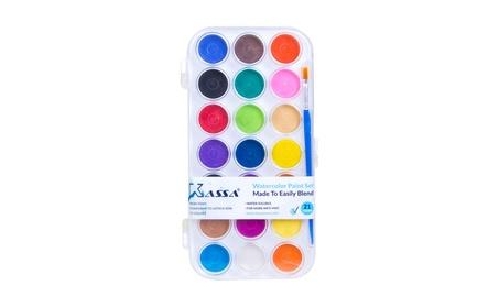 Watercolor Paint Pan Set 21 Colors by Kassa b5d84a15-bfe0-4961-b649-2097c709dfa5