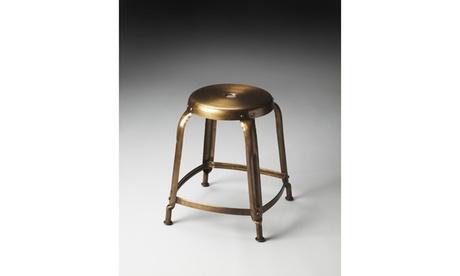 Butler Dutton Bronze Iron Stool 797fe34b-f9aa-44c9-91f5-f97bc9c834df