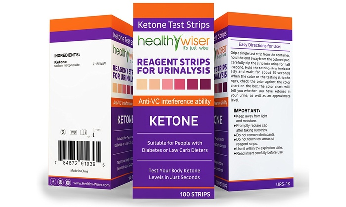 Up To 50 Off On Ketone Test Reagent Strips Fo Groupon Goods