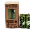 The Original Poop Bags 120 Counts 8 Rolls Poop Bags Large Green