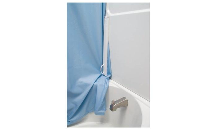 Magna Lock Magnetic Shower Curtain Sealer