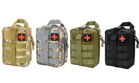 Military Rip-away Tactical First Aid Medical Emergency Kit Molle EMT Pouch Bag