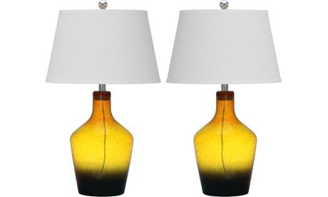Safavieh Antiquarian Glass Table Lamp (Set of 2) 7254307f-0c7c-4153-8641-d6d3603cc34c