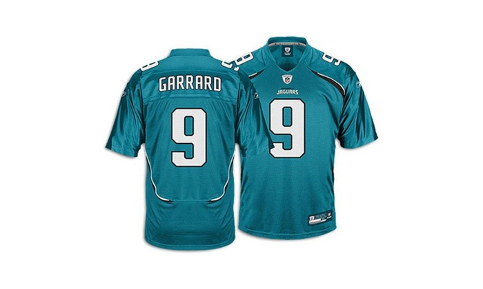 New Reebok Jacksonville Jaguars David Garrard Replica Jersey Medium