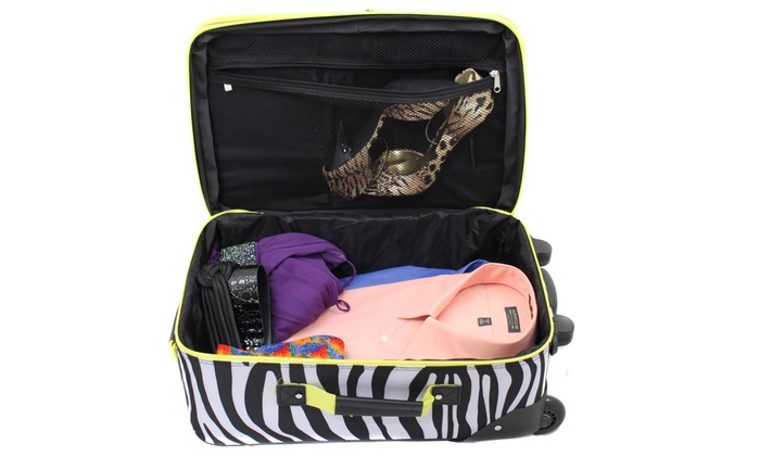 238137d07 Up To 44% Off on Rockland Rio Upright Carry-On... | Groupon Goods