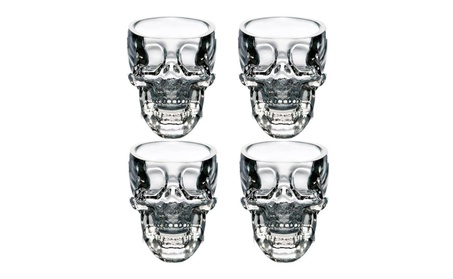 Crystal Skull Head Cup Pirate Shot Glass b3b5b50c-207d-4de2-b1fa-f5d6734af8ab