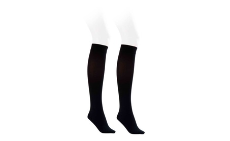 Jobst Opaque 15-20 mmHg Knee High Closed Toe Socks Classic Black 8fb3071f-d588-4f2f-bdab-2086093c3cd1