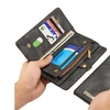 Leather Magnetic Removable Wallet Card Case Cover for iPhone 7, 7 plus