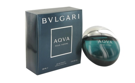 Aqva Pour Homme By Bvlgari 5.0oz./150ml Edt Spray For Men New In Box 8355a9ed-f957-4a2a-bfb6-7960812e8550