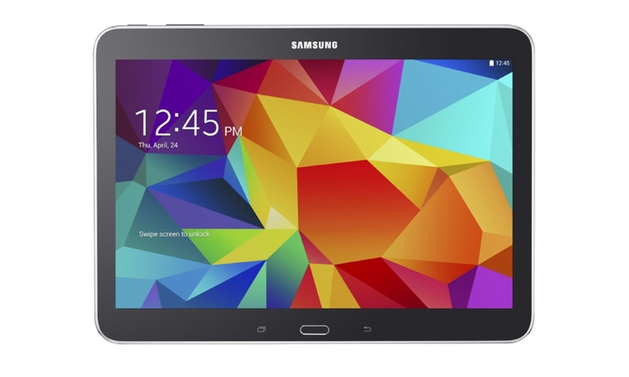 samsung galaxy tab 4 10 1 sm t530 android 4 4 16gb wifi. Black Bedroom Furniture Sets. Home Design Ideas