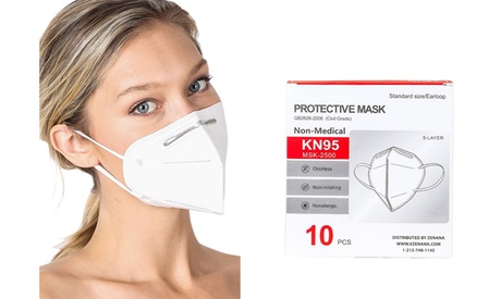 Multi-pack KN95 5-Layer Face Masks Dust Face Covers