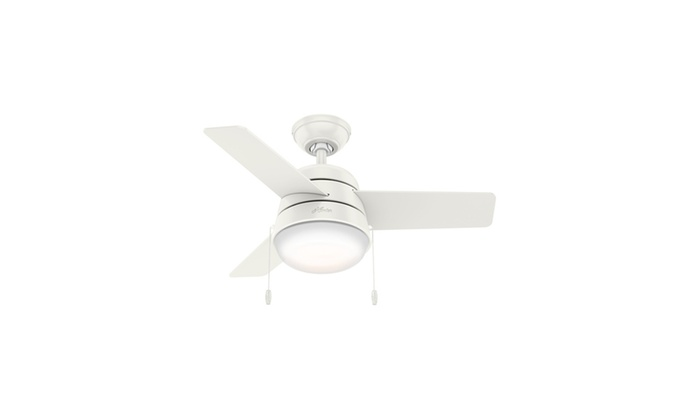 Hunter 36 in ceiling fan with led light certified refurbished ceiling fan with led light certified refurbished mozeypictures Choice Image