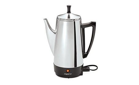 Presto 12-Cup Stainless Steel Coffeemaker 71115d6b-cd09-45b3-8d02-ec33f4f39d70