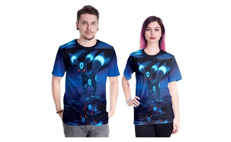 NDB Unisex's 3D Print Fashion Casual T-Shirts dcb89be2-79d5-4d78-8d9a-42d2b01c0285