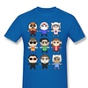 Sljd Men's Vanossgaming Youtuber Design T Shirt Royal Blue For Men