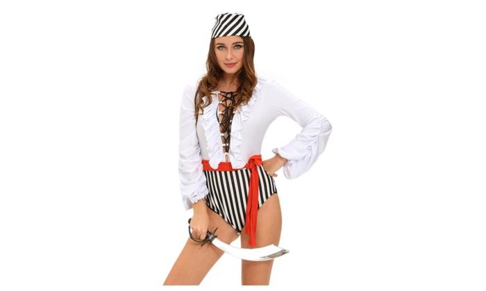 Women's Naughty Pirate Scoundrel Costume
