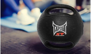 Tapout XT Two-Handle Medicine Ball (4- or 6-Lb.)