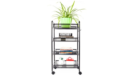 4 Tier Home Kitchen Storage Cart