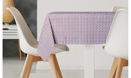 """Table Linens: Linen Tablecloth 60 x 84"""" or 52 x 70"""" ( 5 designs)"""