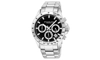 Stuhrling Original Mens Stainless Steel Chronograph Watch