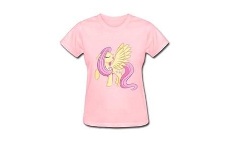 Ryan Women's T-shirt Pink Fluttershy Pony Pink 8b2d1542-614b-43d6-9d96-a8879e70c90b
