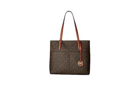 Michael Michael Kors Bedford Large Pocket Tote - Brown 251edcca-0252-4c91-a6d4-8e001c7fb59f
