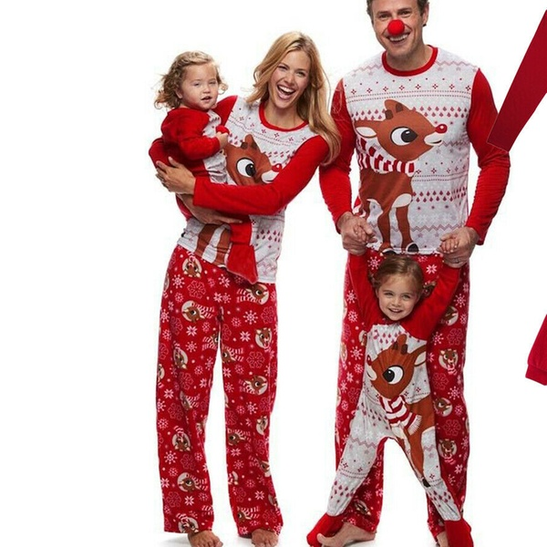 Up To 47 Off On Family Christmas Pajamas Set Groupon Goods