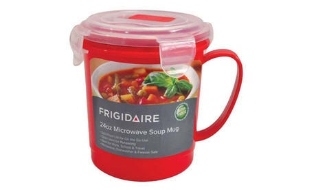 Frigidaire 24 Oz. Microwave Soup Mug photo