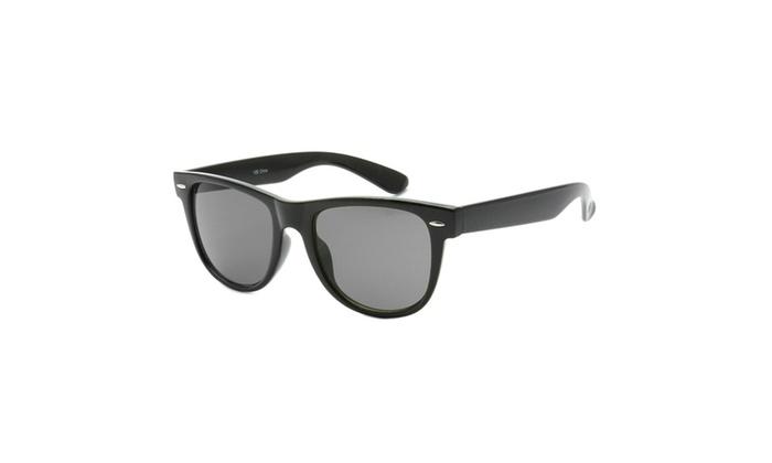 MLC Eyewear Full Framed Sporty Half Horn Rimmed Sunglasses UV400