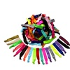 Elastic Hair Ties No Crease Ponytail Holders Hair Bands for Women - 60 UNITS