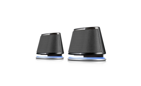 Satechi Dual Sonic Speaker 2.0 Channel Computer Speakers 00425c56-394d-4999-ab7d-5c0c8435a872
