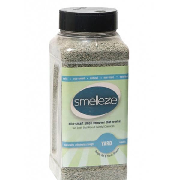 SMELLEZE Eco Yard & Concrete Smell Removal Deodorizer: 50 Lb  Granules Rid  Odor