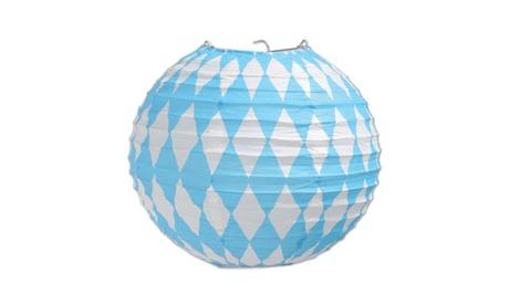 "Beistle Oktoberfest Paper Lanterns 9 1/2"" - 6 Pack (3/Pkg) 09bb4db6-078e-445c-9150-5a8fda4ed444"