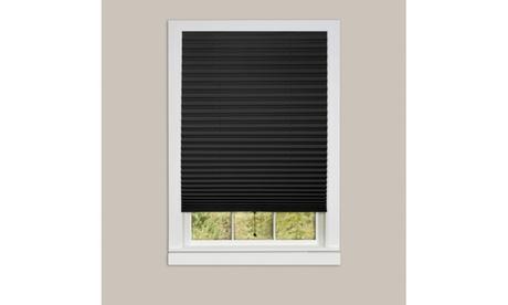1-2-3 Vinyl Room Darkening Temporary Pleated Window Shade - 6 Pack ebc9afb1-3bcb-42d3-bcbd-7045d299d891