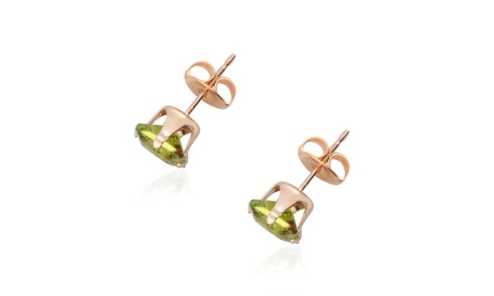 9b2ea85ad Up To 85% Off on 14K Yellow Gold Plated Square... | Groupon Goods