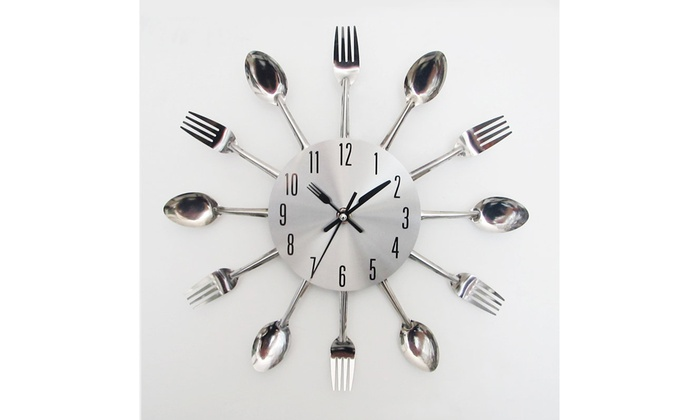 Red Fork And Spoon Wall Decor  from img.grouponcdn.com