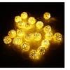 2.1M 20 LED Garland Rattan Vine Ball Globe Lamp Fairy String Lights