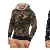 Men Camouflage Pullover Hoodie Sweatshirt