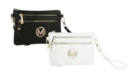 eb333a233c52 Shop Groupon MKF Collection by Mia K. Farrow Roonie Crossbody (1- or 2-Pack