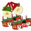 Mini Cute 8 Christmas Stockings  And 2 Christmas Gift Bags