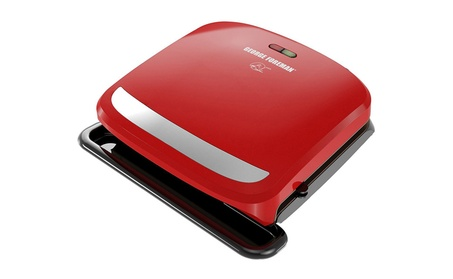 George Foreman 4 Serving Removable Plate 360 Grill 2fcac5d4-3a07-4c56-80dd-93c3416b4ddc