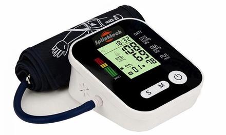 Automatic Digital Upper Arm Blood Pressure Cuff Monitor Sphygmomanometer Black