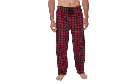 Active Club Men's Fleece Sleep Lounge Pants
