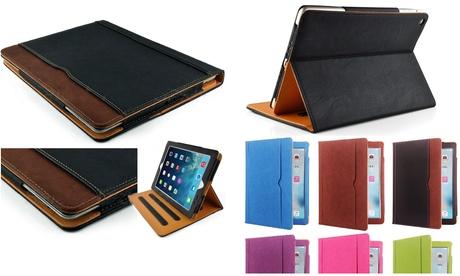 Leather Wallet Smart Case Cover Sleep/Wake Apple iPad Mini 1/2/3/4/5 Stylus Pen