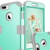 3-in-1 Hybrid Protective Case for iPhone X,7/8,7 Plus/8 Plus,6/6s Plus