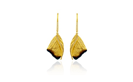 Butterfly Wing Earrings with Ember Detail ba02a05f-fcfd-45e1-87a4-9bc911ec3d3f