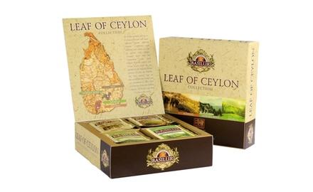 Basilur Leaf of Ceylon Gift Box - 4 Regions and Elevations -40 Sachets
