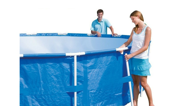 Up To 68 Off On 10 Feet X 30 Inches Steel Pro Groupon Goods