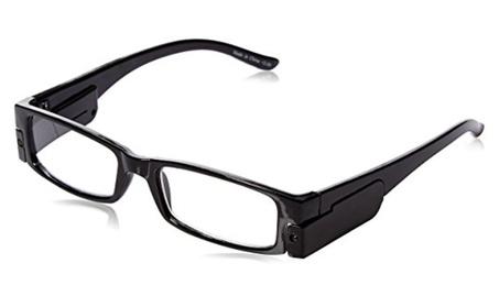 Lighted reading glasses 2.00 Unisex frames 75e41135-993a-4f42-b02c-788925861997
